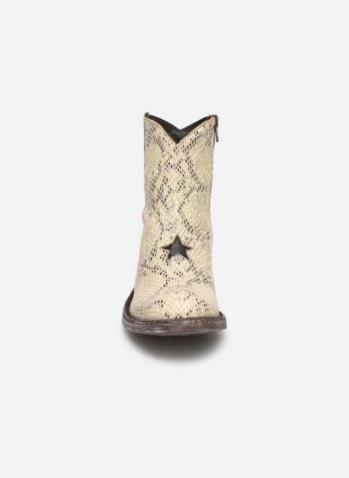 Bottines et boots Mexicana Star Blanc vue portées chaussures