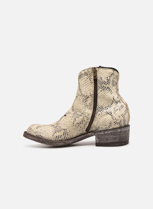 Bottines et boots Mexicana Star Blanc vue face