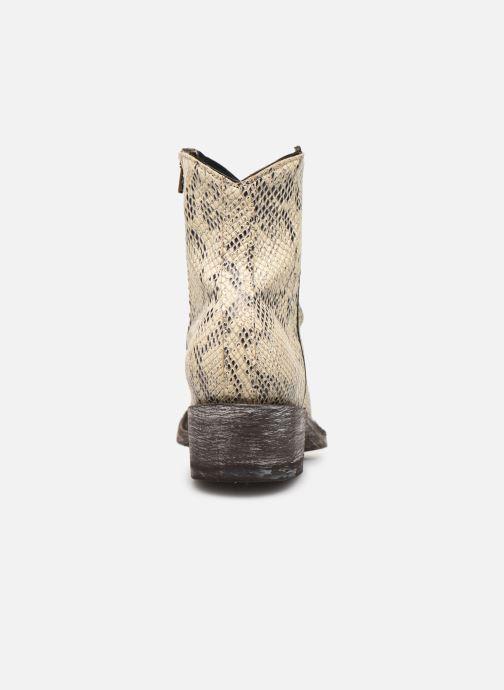 Bottines et boots Mexicana Star Blanc vue droite
