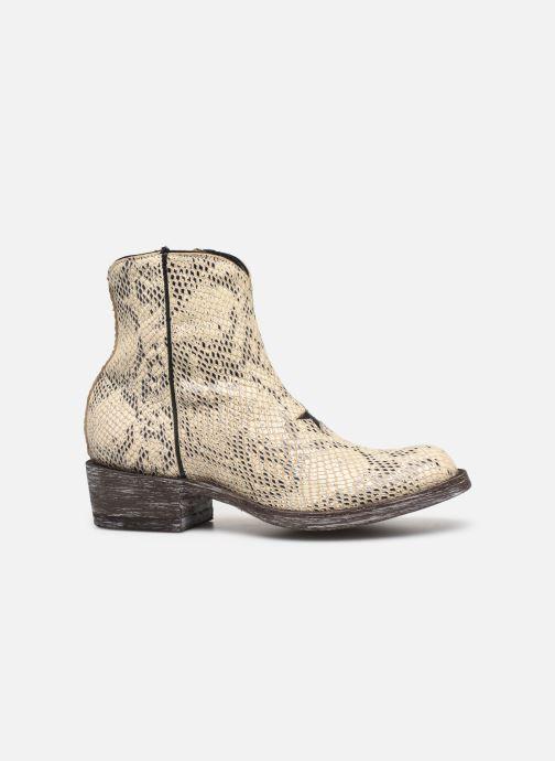 Bottines et boots Mexicana Star Blanc vue derrière