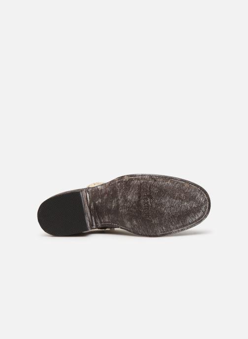 Bottines et boots Mexicana Star Blanc vue haut