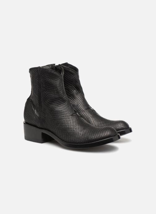 Bottines et boots Mexicana Star Noir vue 3/4