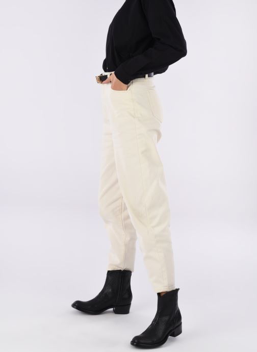 Ankle boots Mexicana Star Black view from underneath / model view