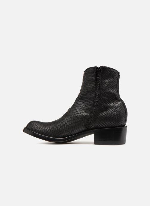 Boots en enkellaarsjes Mexicana Star Zwart voorkant