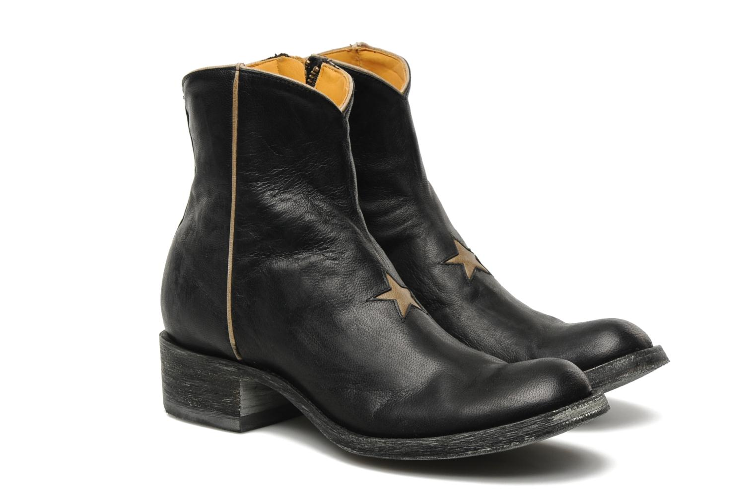 Ankle boots Mexicana Star Black 3/4 view