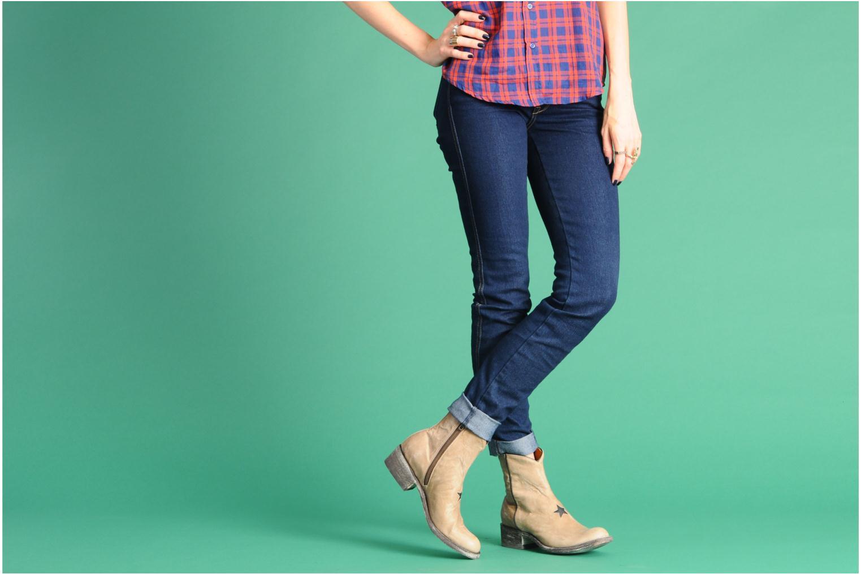 Boots en enkellaarsjes Mexicana Star Beige onder