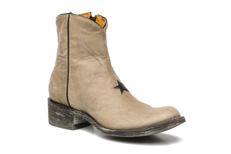 Boots en enkellaarsjes Mexicana Star Beige detail