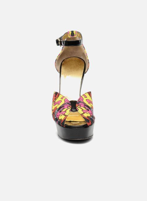 Sandales et nu-pieds Terry de Havilland Poppy Multicolore vue portées chaussures