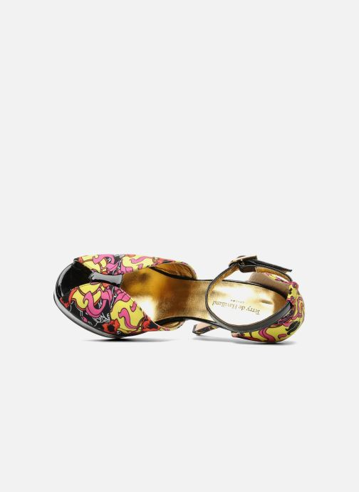 Sandalias Terry de Havilland Poppy Multicolor vista lateral izquierda