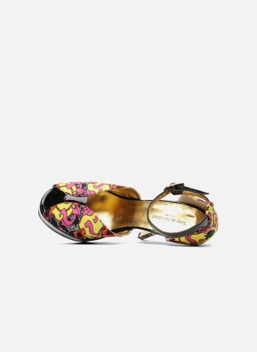 Sandalias Terry de Havilland Poppy Multicolor vista lateral izquierda