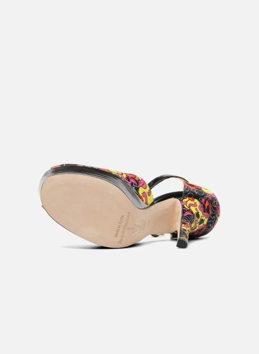 Sandales et nu-pieds Terry de Havilland Poppy Multicolore vue haut