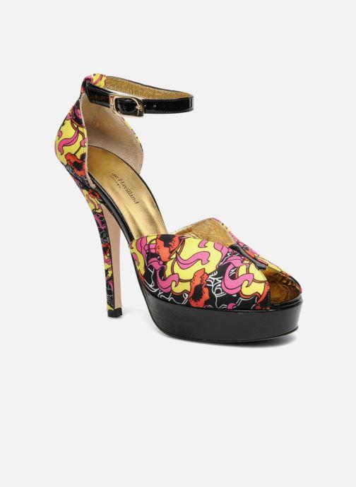 Sandalias Terry de Havilland Poppy Multicolor vista de detalle / par