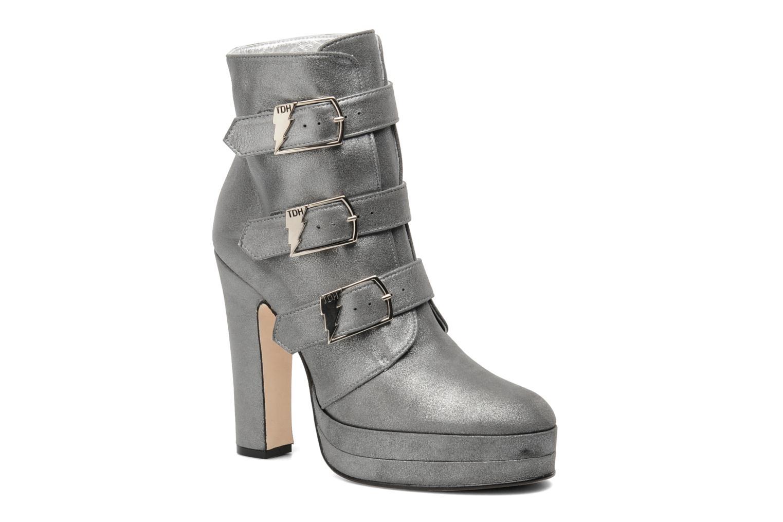 Ankelstøvler Terry de Havilland Joni Sort detaljeret billede af skoene