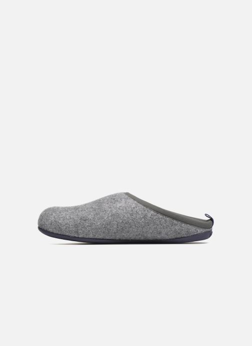 Hausschuhe Camper Wabi 18811 grau ansicht von vorne
