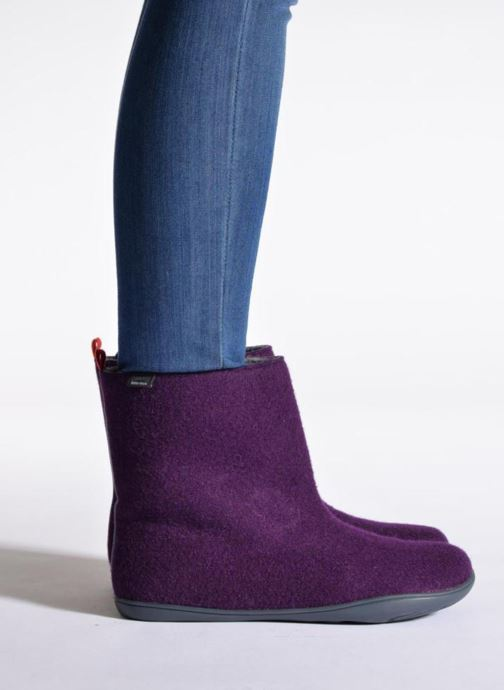 Ankle boots Camper Wabi 46646 Grey view from underneath / model view