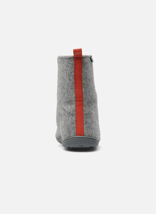 Ankle boots Camper Wabi 46646 Grey view from the right