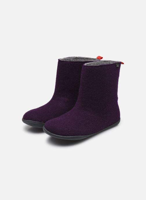 Bottines et boots Camper Wabi 46646 Violet vue bas / vue portée sac