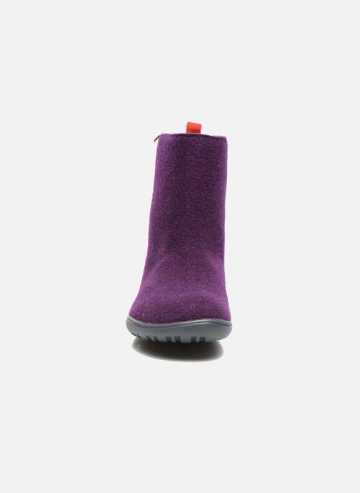 Bottines et boots Camper Wabi 46646 Violet vue portées chaussures