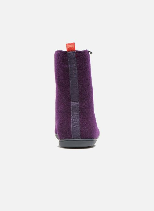 Bottines et boots Camper Wabi 46646 Violet vue droite