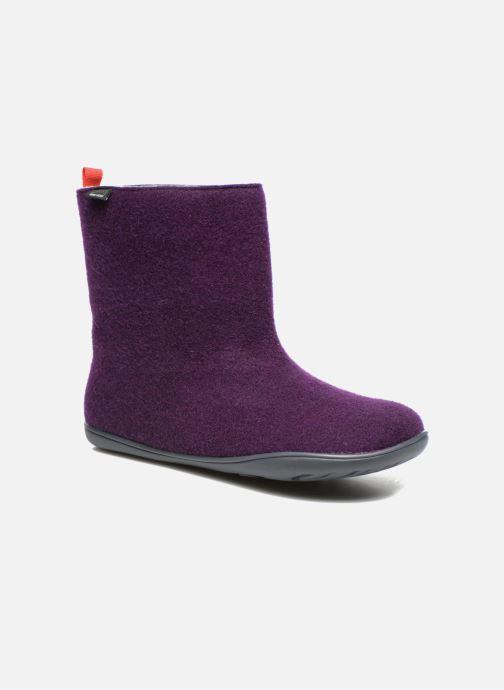 Bottines et boots Camper Wabi 46646 Violet vue détail/paire
