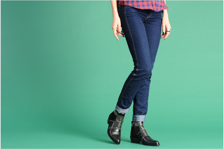 Bottines et boots Georgia Rose Perlouze Beige vue bas / vue portée sac