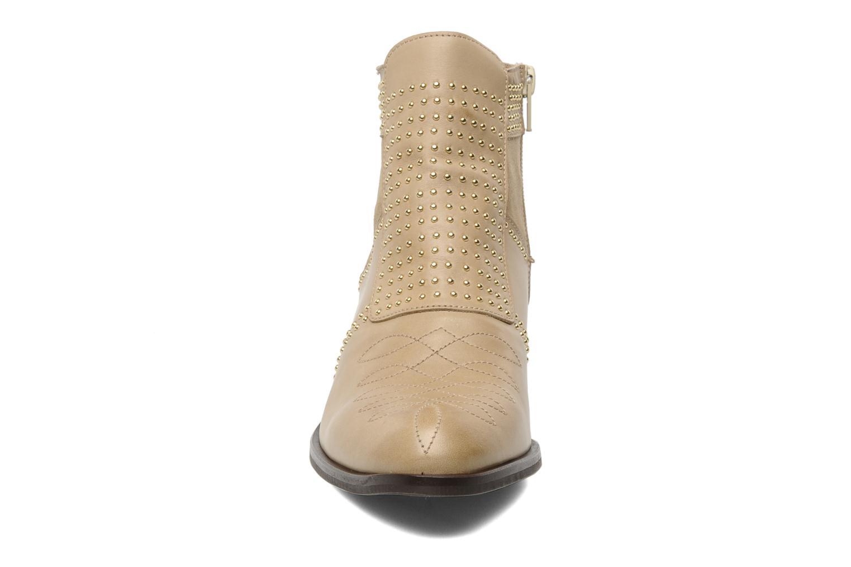 Bottines et boots Georgia Rose Perlouze Beige vue portées chaussures