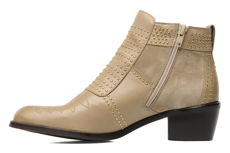 Bottines et boots Georgia Rose Perlouze Beige vue face