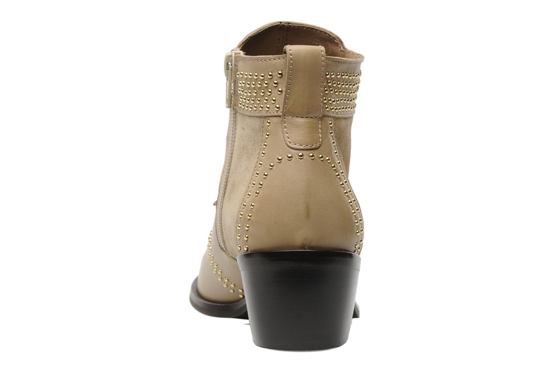 Bottines et boots Georgia Rose Perlouze Beige vue droite