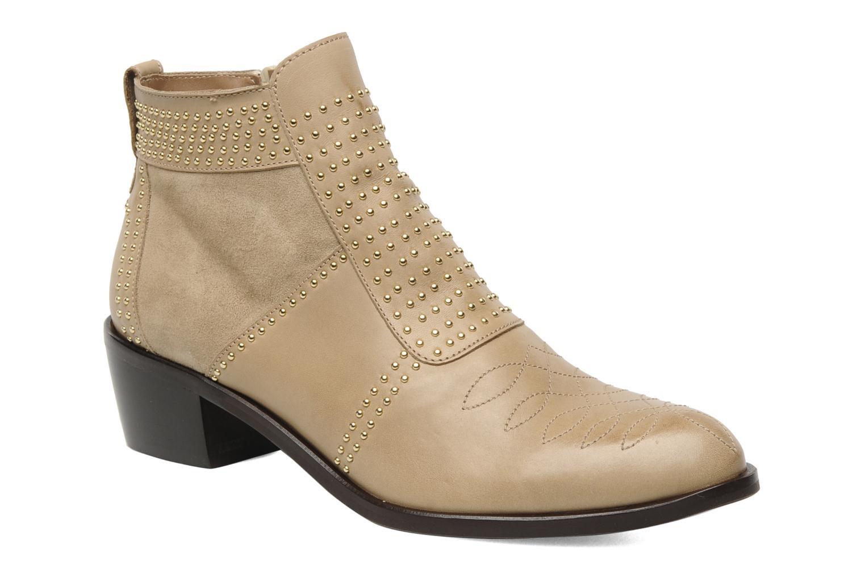 Bottines et boots Georgia Rose Perlouze Beige vue détail/paire