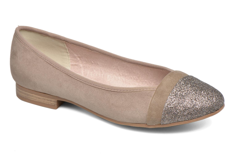 Bailarinas Jana shoes Molia Beige vista de detalle / par