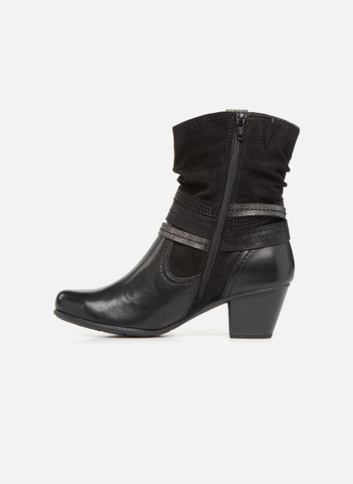 Ankle boots Jana shoes Tombo Black front view