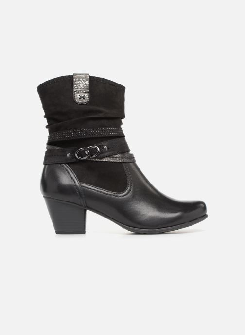 Ankle boots Jana shoes Tombo Black back view