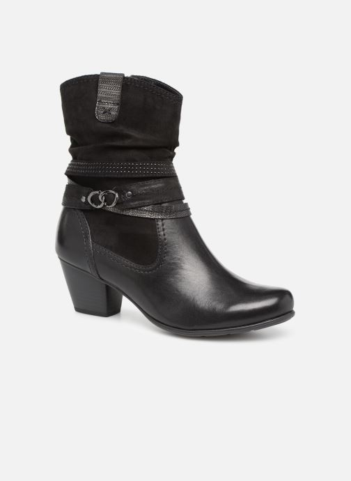 Ankle boots Jana shoes Tombo Black detailed view/ Pair view