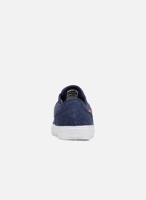Chaussures de sport Globe MAHALO Bleu vue droite