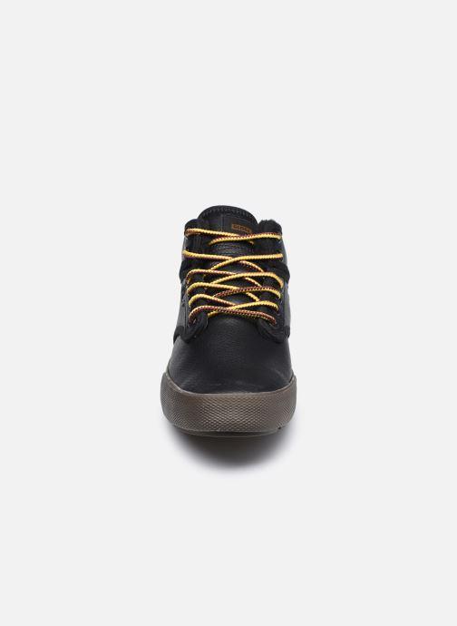 Zapatillas de deporte Globe MOTLEY MID FUR Negro vista del modelo