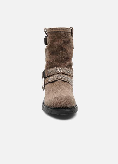 Stiefeletten & Boots Janet Sport Javia beige schuhe getragen