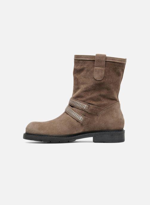Stiefeletten & Boots Janet Sport Javia beige ansicht von vorne