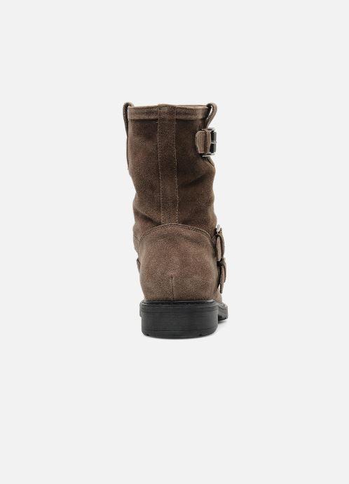 Stiefeletten & Boots Janet Sport Javia beige ansicht von rechts