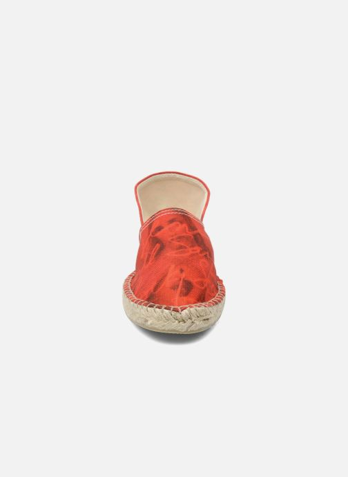 Espadrilles String Republic Jesus is Lord by Sockho W Red model view