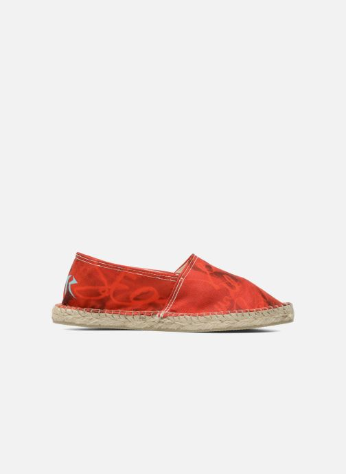 Espadrilles String Republic Jesus is Lord by Sockho W Red back view