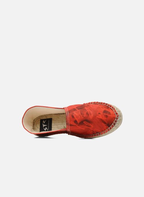 Espadrilles String Republic Jesus is Lord by Sockho W Red view from the left