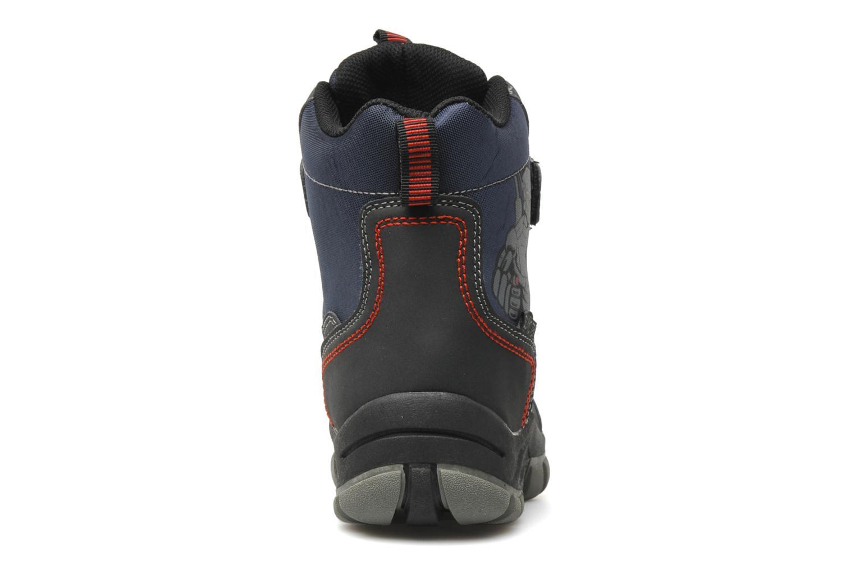 Bottines et boots I Love Shoes Harry Bleu vue droite