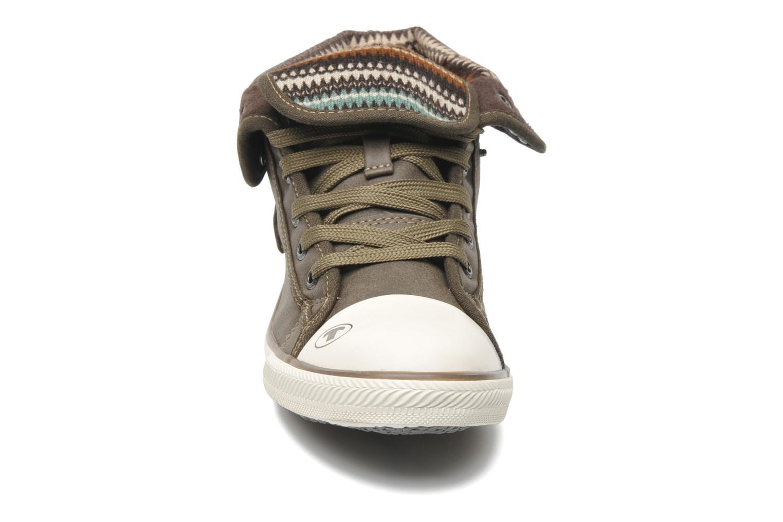 Baskets Tom Tailor Hortense Marron vue portées chaussures