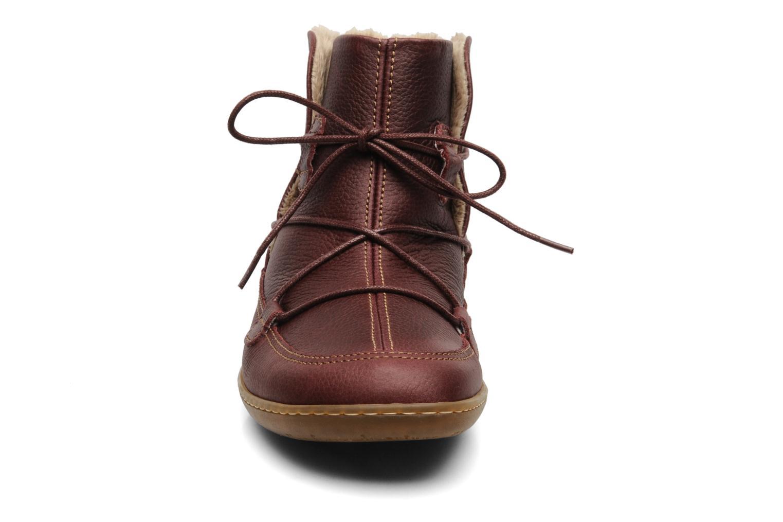 Boots en enkellaarsjes El Naturalista Viajero N265 Bordeaux model