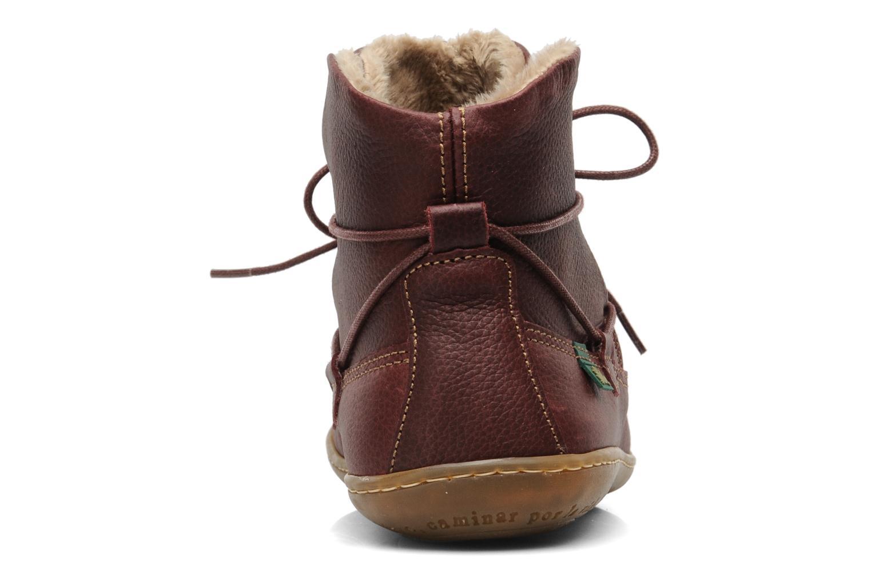 Boots en enkellaarsjes El Naturalista Viajero N265 Bordeaux rechts