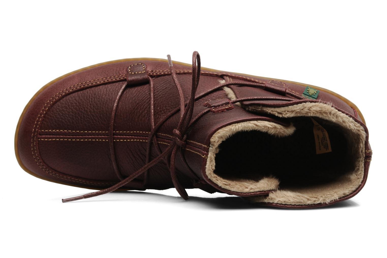 Boots en enkellaarsjes El Naturalista Viajero N265 Bordeaux links