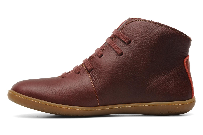 Chaussures à lacets El Naturalista Viajero N267 W Bordeaux vue face