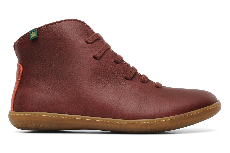 Chaussures à lacets El Naturalista Viajero N267 W Bordeaux vue derrière