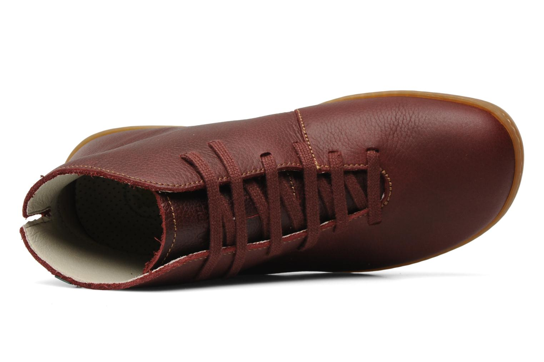 Chaussures à lacets El Naturalista Viajero N267 W Bordeaux vue gauche
