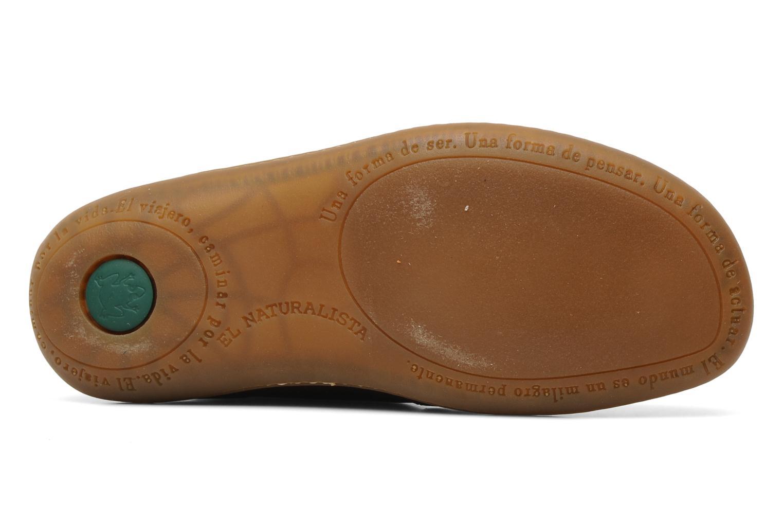 Chaussures à lacets El Naturalista Viajero N267 W Bordeaux vue haut